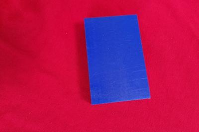 蓝色pom板